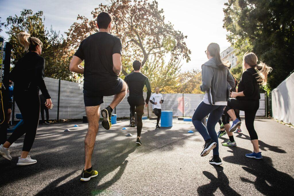 Outdoor Fitness Kurse