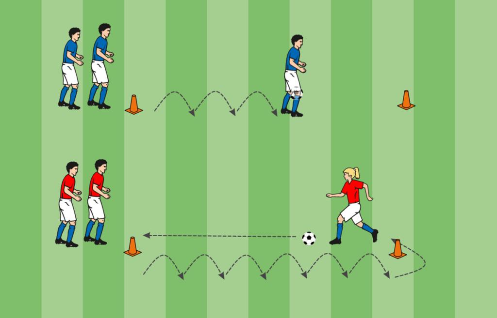 Ballhüpfspiel Mini-EM Kinderfußball