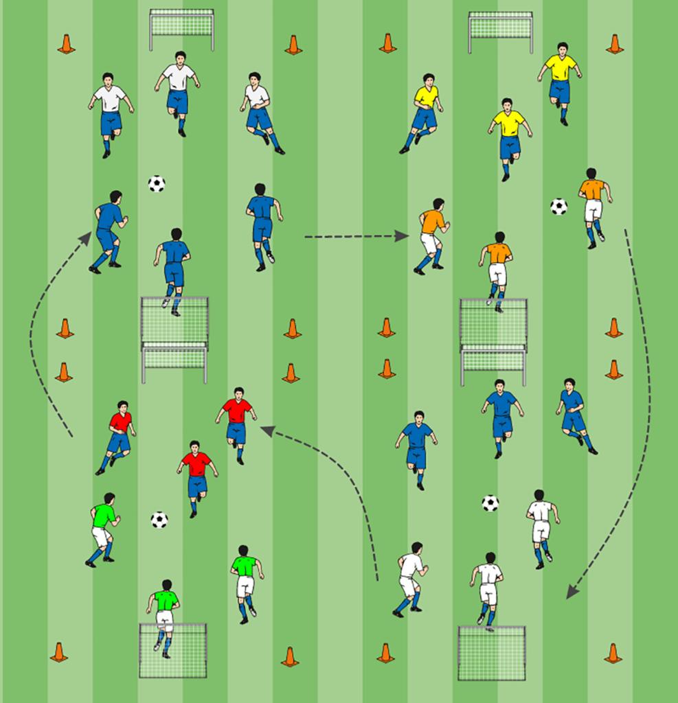 Kinderfußball EM Finale