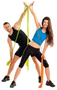Übungen mit dem Fitnessband