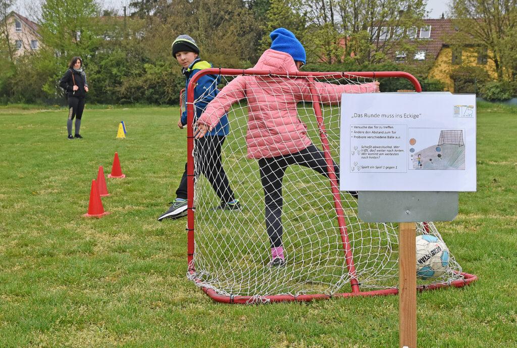 Kindersport bei der TSG Backnang