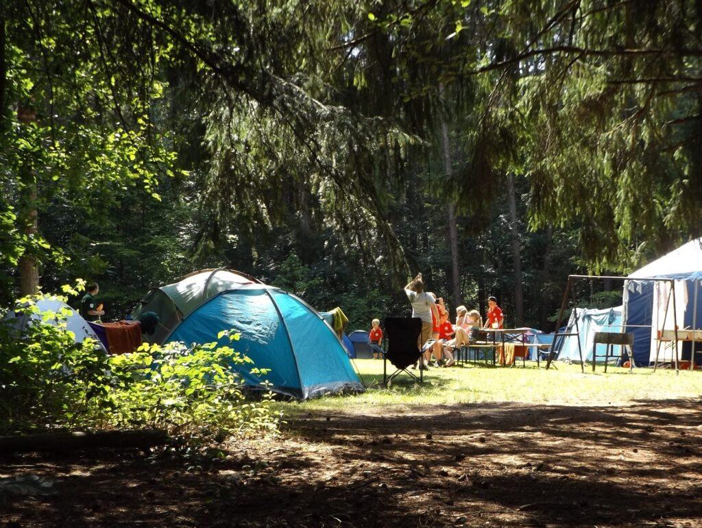 Zeltlager für die Vereinskasse