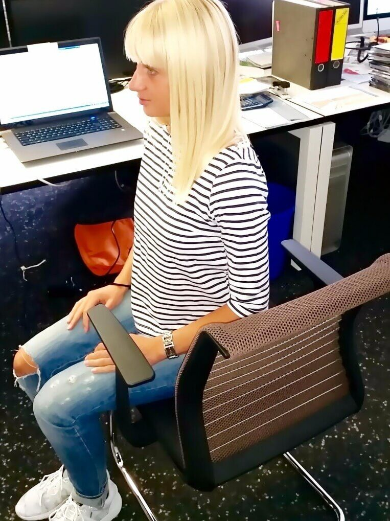 Yoga Übungen am Arbeitsplatz