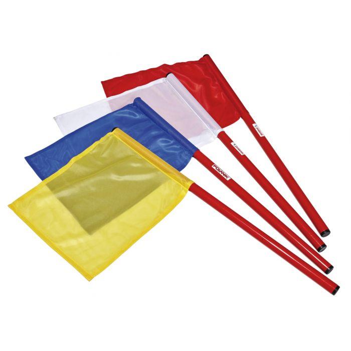Blau Gelb POLANIK Kampfrichterfahnen Fahnen für Kampfrichter Weiß Rot